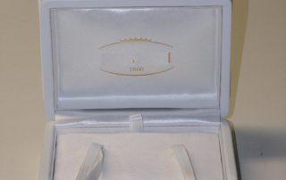 wedding ring box leather