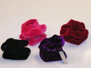 square velvet bags