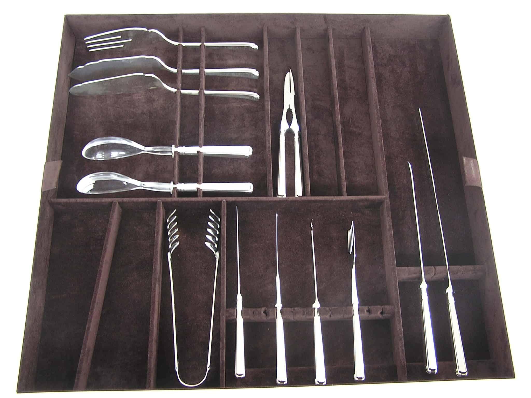 cutlery box on demand Argenteria