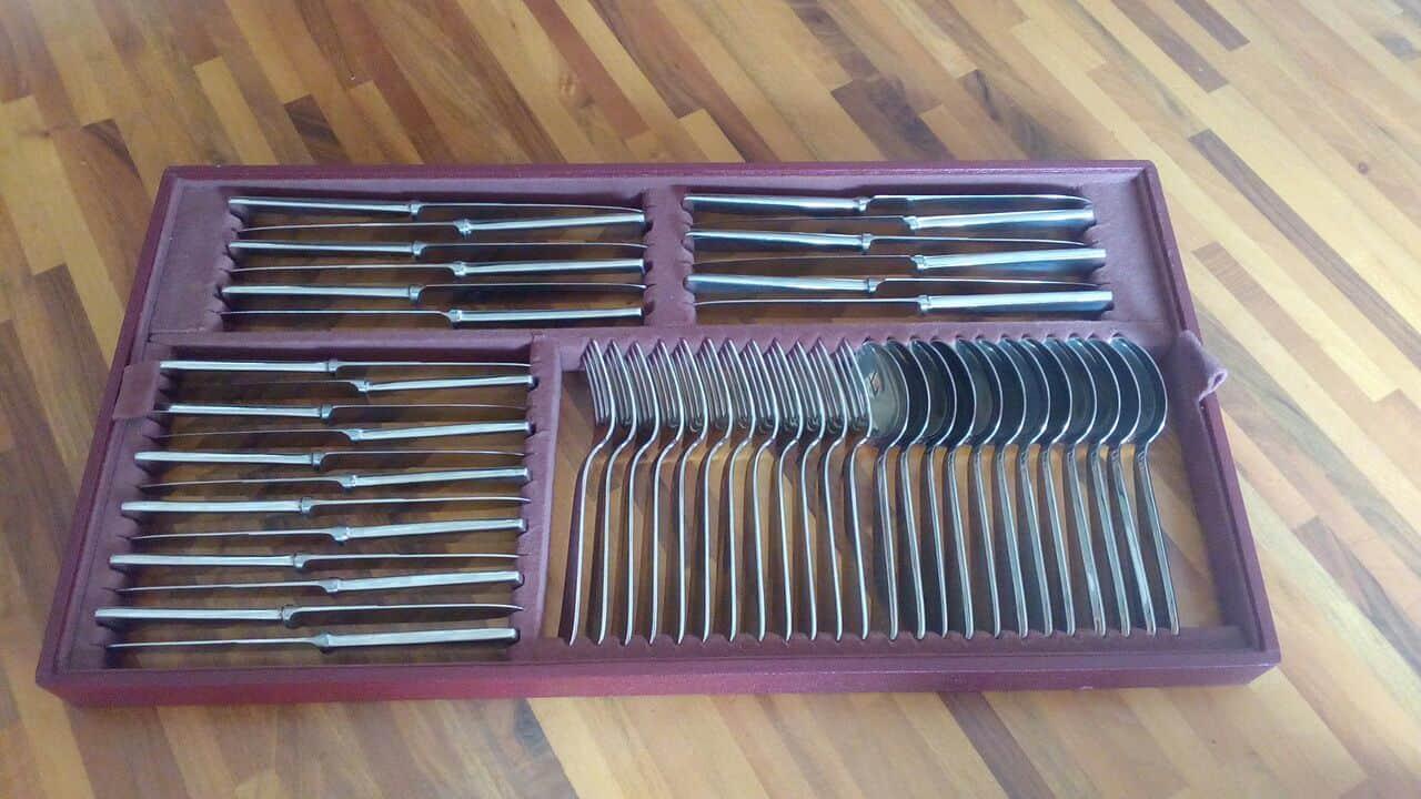 silverwere cutlery on demand