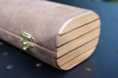 astuccio bracciale legno